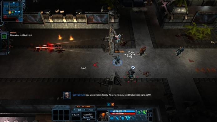 Priorizando a dinâmica de partidas cooperativas, os jogadores enfrentaram ondas de inimigos cada vez mais perigosos (Foto: Reprodução/Daniel Ribeiro)