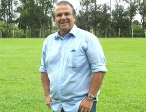 Márcio Malamud. diretor de futebol do Atlético Uberlândia CAP Uberlândia (Foto: Caroline Aleixo)