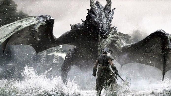 Remasterização de Skyrim traz gráficos repaginados ao RPG clássico (Foto: Divulgação)