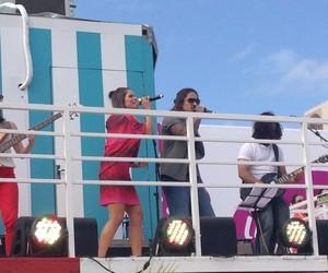 Nalanda e Kim Lírio cantaram juntos na final do concurso (Foto: Gabriela Haas/Gshow)