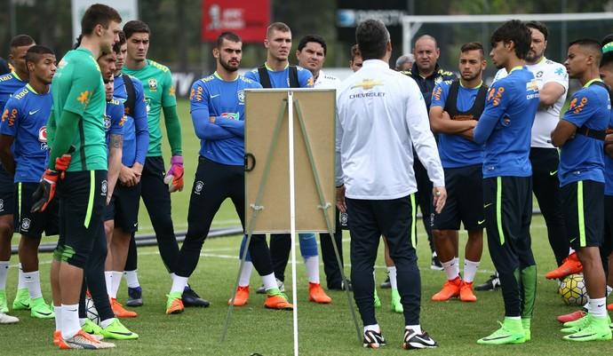 Rogério Micale Seleção no Sul-Americano Sub-20 (Foto: Lucas Figueiredo / CBF)