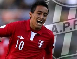 Cueva chega como aposta à Ponte (Foto: Reprodução 'El Comercio')