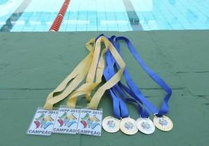 Medalhas foram conquistas nas duas últimas edições dos Jogos (Foto: Fábio Reis / TV Fronteira)
