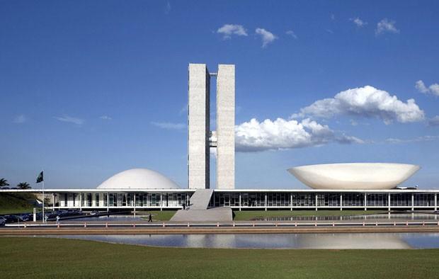 Congresso Nacional do Brasil, Brasília, 1960, de Oscar Niemeyer (Foto: Divulgação)