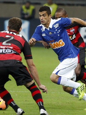 Egídio, Cruzeiro, Mineirão, Atlético-GO (Foto: Washington Alves / Vipcomm)