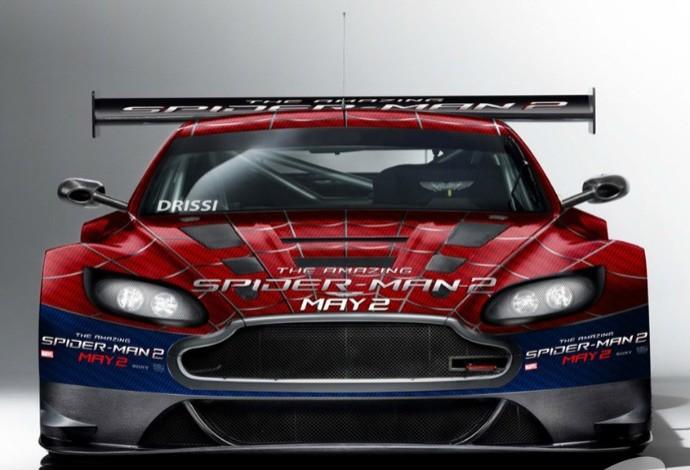 O Aston Martin de Tomy Drissi na corrida de Long Beach deste fim de semana (Foto: Divulgação )