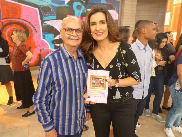 Mais um clique nos bastidores do programa (Foto: Tiele Nicolini/Gshow)