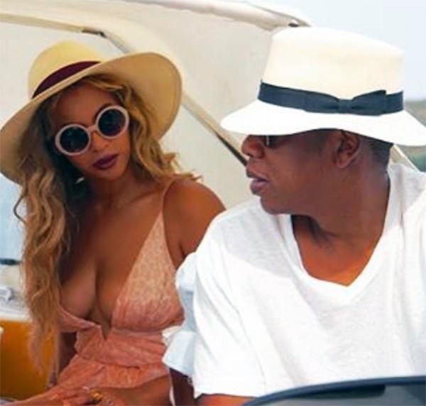 Beyonce e Jay-Z (Foto: Instagram)