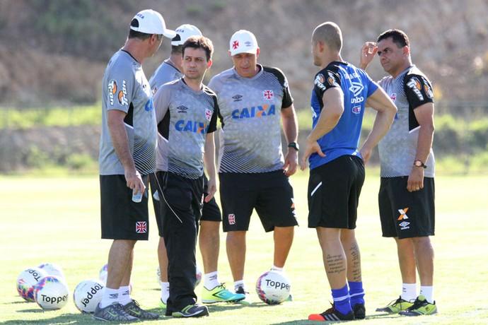 Alex Evangelista, treino Vasco (Foto: Marcelo Sadio / Flickr do Vasco)