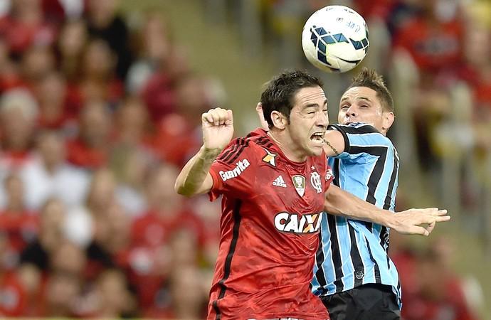Chicão, Flamengo X Grêmo (Foto: Getty Images)