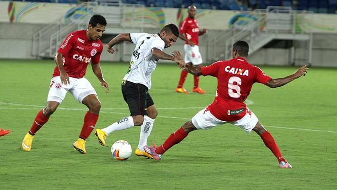 América-RN x Globo FC (Foto: Augusto Ratis)