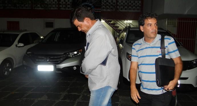 Moacir Júnior demitido do Náutico (Foto: Daniel Gomes)