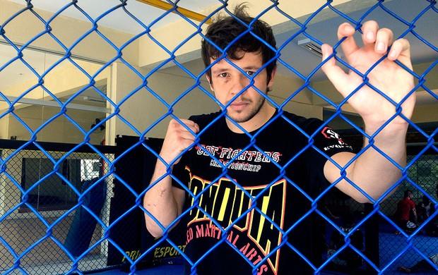Bruno KLB lutador MMA (Foto: Diogo Venturelli )