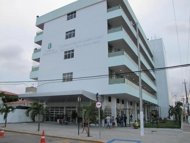 Hospital Albert Sabin, em Fortaleza (Foto: Divulgação)