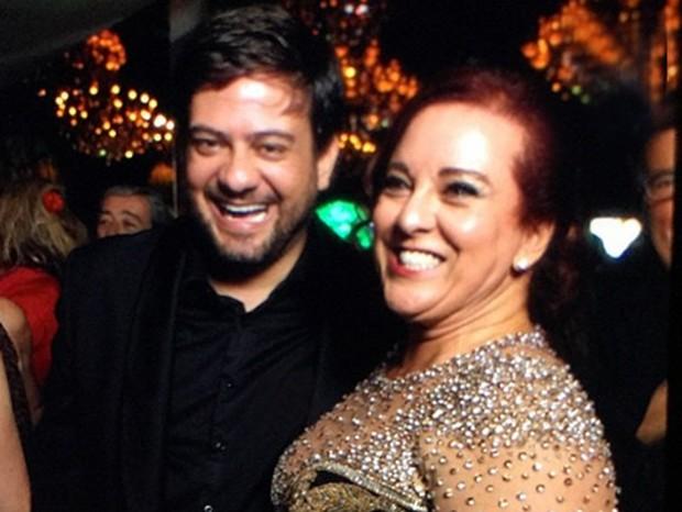 Bruno Astuto e Priscilla Levinsohn  (Foto: Reprodução/Instagram)