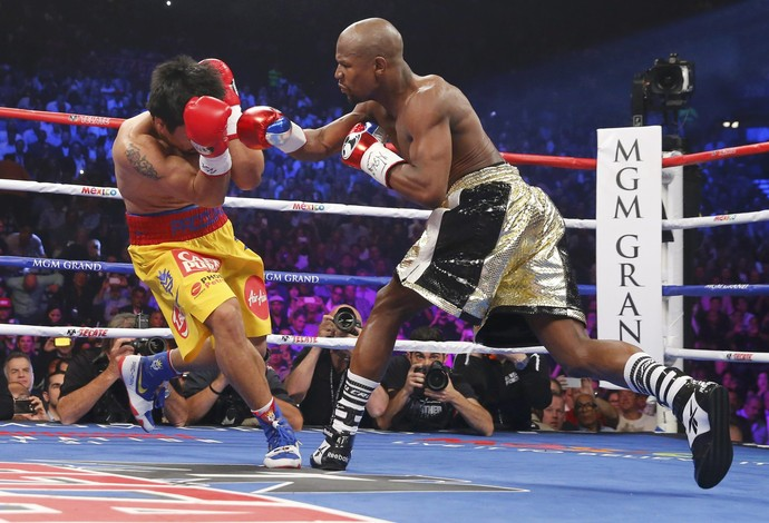 Manny Pacquiao Floyd Mayweather boxe (Foto: Reuters)