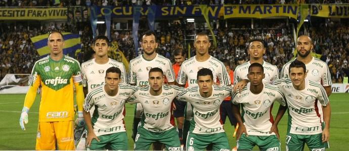 Palmeiras posado (Foto: César Greco / Ag. Palmeiras / Divulgação)