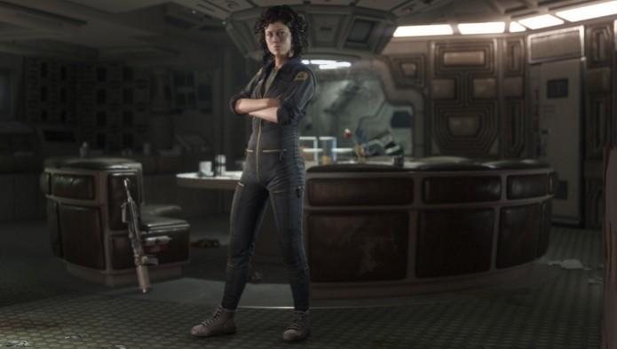 Alien: Isolation terá DLC com Ellen Ripley, personagem interpretada pela atriz Sigourney Weaver. (Foto: Divulgação) (Foto: Alien: Isolation terá DLC com Ellen Ripley, personagem interpretada pela atriz Sigourney Weaver. (Foto: Divulgação))