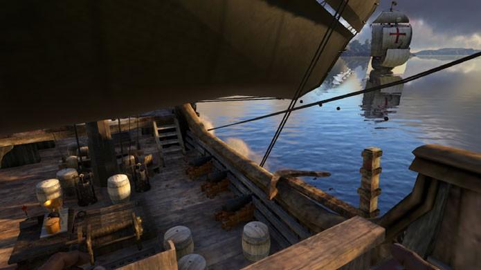 Ark Pirate World leva o mundo do jogo para a era dos piratas (Foto: Divulgação/Steam Workshop)