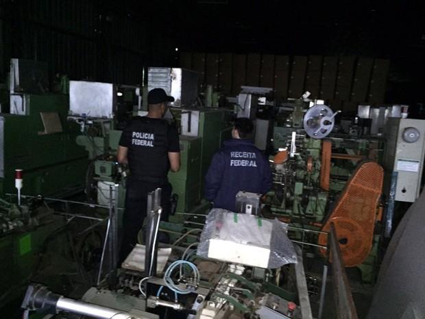 Operação combate contrabando e outras infrações (Foto: Divulgação/PF)