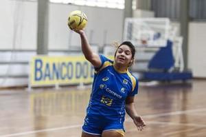 Deborah Hannah seleção brasileira handebol (Foto: William Lucas / Photo&Grafia)