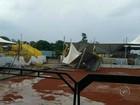 Chuva forte atinge cidades da região Centro-Oeste Paulista nesta 6ª feira