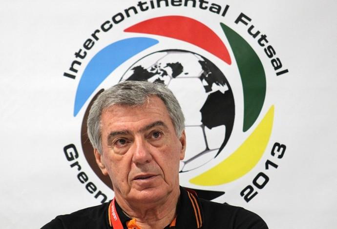 Paulo Mussalem técnico Carlos Barbosa (Foto: Divulgação/ACBF)
