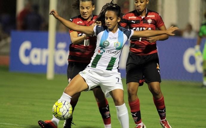 foz/coritiba x vitória brasileiro feminino (Foto: Christian Rizzi/Frontpress)