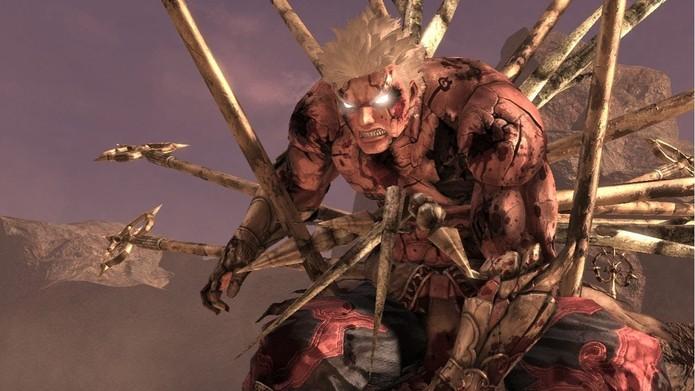 Final de Asuras Wrath foi vendido como DLC (Foto: Divulgação/Capcom)
