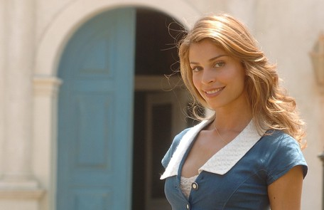 Em 'Desejo Proibido', novela exibida em 2006, Grazi viveu Florinda TV Globo