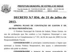 Prefeitura paralisa atividades devido à crise financeira em Estrela do Indaiá