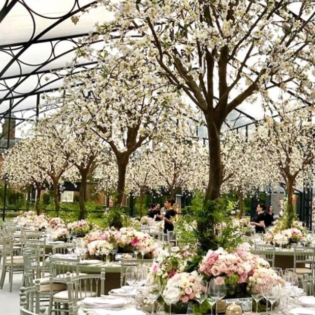 Djordje Varda e o florista Rob Van Helden assinaram o lindo décor do casamento de Pippa Middleton (Foto: Instagram/Reprodução)