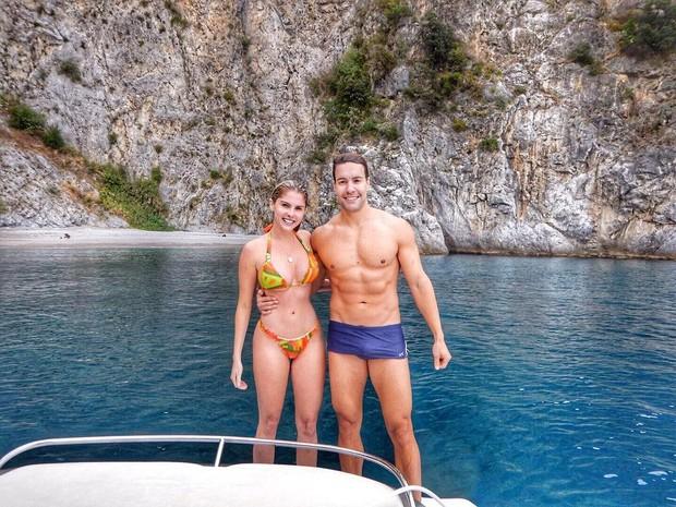 Barbara Evans e o namorado (Foto: Reprodução/ Instagram)