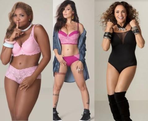 Gaby, Pitty e Daniela representam a autoestima da mulher brasileira e suas diversidades  (Foto: Divulgação)