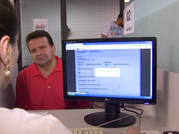 Posto de Atendimento ao Trabalhador (PAT) voltou a funcionar das 8h às 16h (Foto: Cesar Fontenele/EPTV)