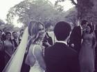 Karen Junqueira se casa com publicitário no Rio