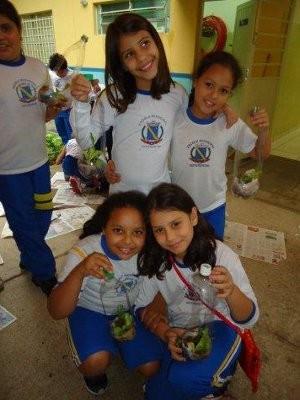 A partir do próximo semestre de aula, os alunos passarão a acompanhar o crescimento das plantas (Foto: Divulgação/Prefeitura de Votorantim)