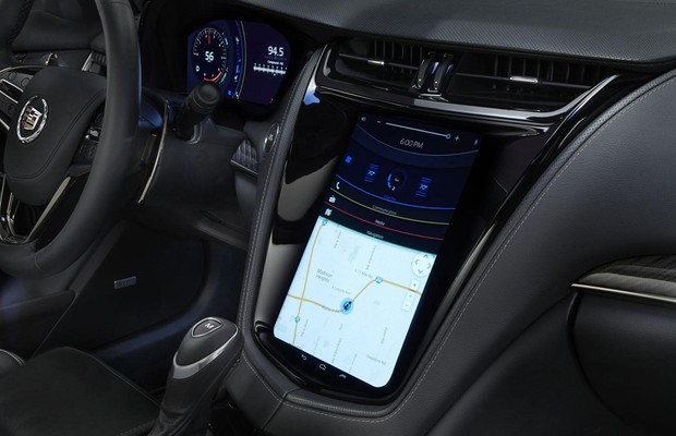 Sistema multimídia Mitsubishi FLEXConnect (Foto: Divulgação)