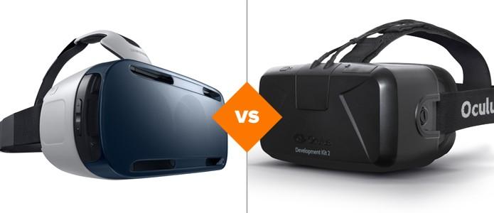 Confira qual é a diferença entre o Oculus Rift e o Gear VR, ambos produzidos pela Oculus VR (Foto: Arte/TechTudo)
