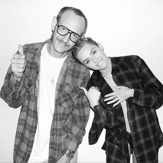 Miley e Terry  (Foto: Reprodução/Instagram)