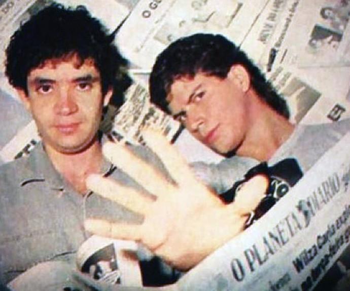 Renato Russo e Paulo Ricardo eram amigos (Foto: Arquivo Pessoal)