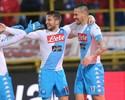 Em dia de Alemanha, Napoli vence por 7 a 1 com show de Mertens e Hamsik