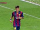 Neymar faz dois gols no primeiro jogo após contusão na Copa do Mundo