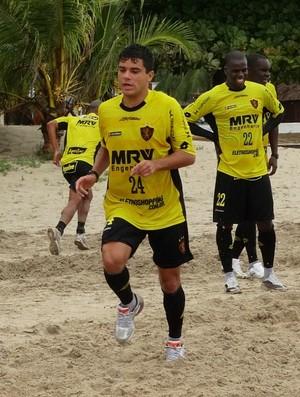 sandrinho sport (Foto: Elton de Castro / GloboEsporte.com)