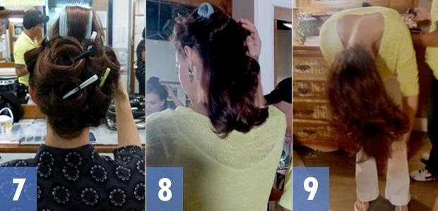 Passo a passo 7 a 9 novamente (Foto: Em Família / TV Globo)