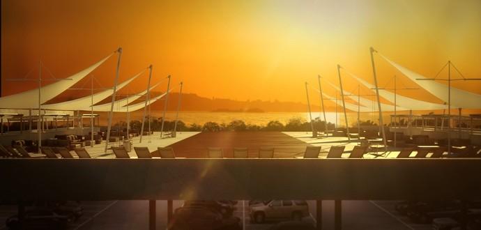 Sunset Beira-Rio (Foto: Divulgação / Hype Studio Arquitetura))