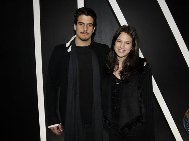 Enzo Celulari e Sophia  (Foto: Celso Tavares / Ego)