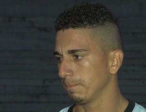 Zé Antônio, zagueiro do Campinense (Foto: Reprodução / TV Paraíba)