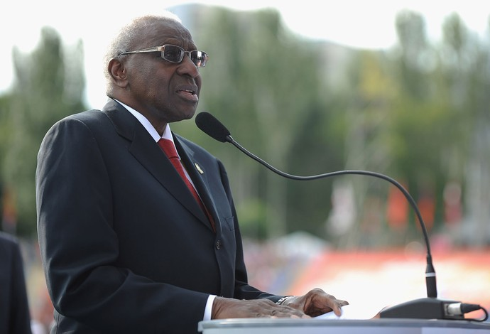 Atletismo Lamine Diack presidente IAAF  (Foto: Getty Images)