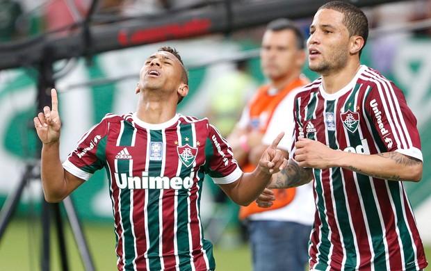 Biro Biro gol Fluminense contra Bahia (Foto: Ivo Gonzalez / Agencia O Globo)